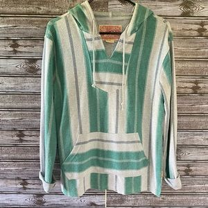 Brooklyn Cloth Pullover Hooded Top Size S